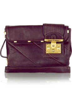 Plum Oversized Clutch