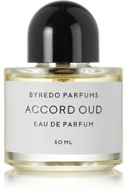 Accord Oud Eau de Parfum - Saffron, Rum & Leather, 50ml