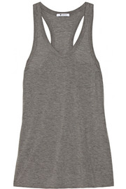 T by Alexander Wang Classic jersey racer-back tank