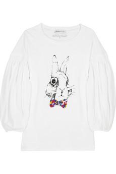 See by ChloéBunny print T-shirt