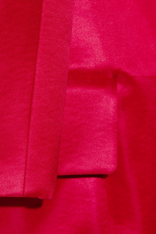 Burberry Ombré silk cocoon coat