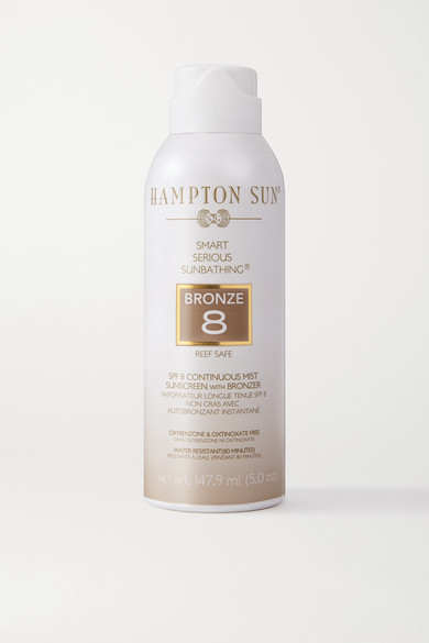 HAMPTON SUN Spf8 Continuous Mist Sunscreen With Bronzer - Colorless