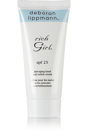 SPF25 Rich Girl Anti-Aging Hand and Cuticle Cream, 85g