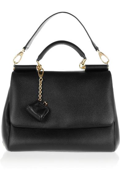Dolce   Gabbana. Sicily medium leather shoulder bag fa579b772989c