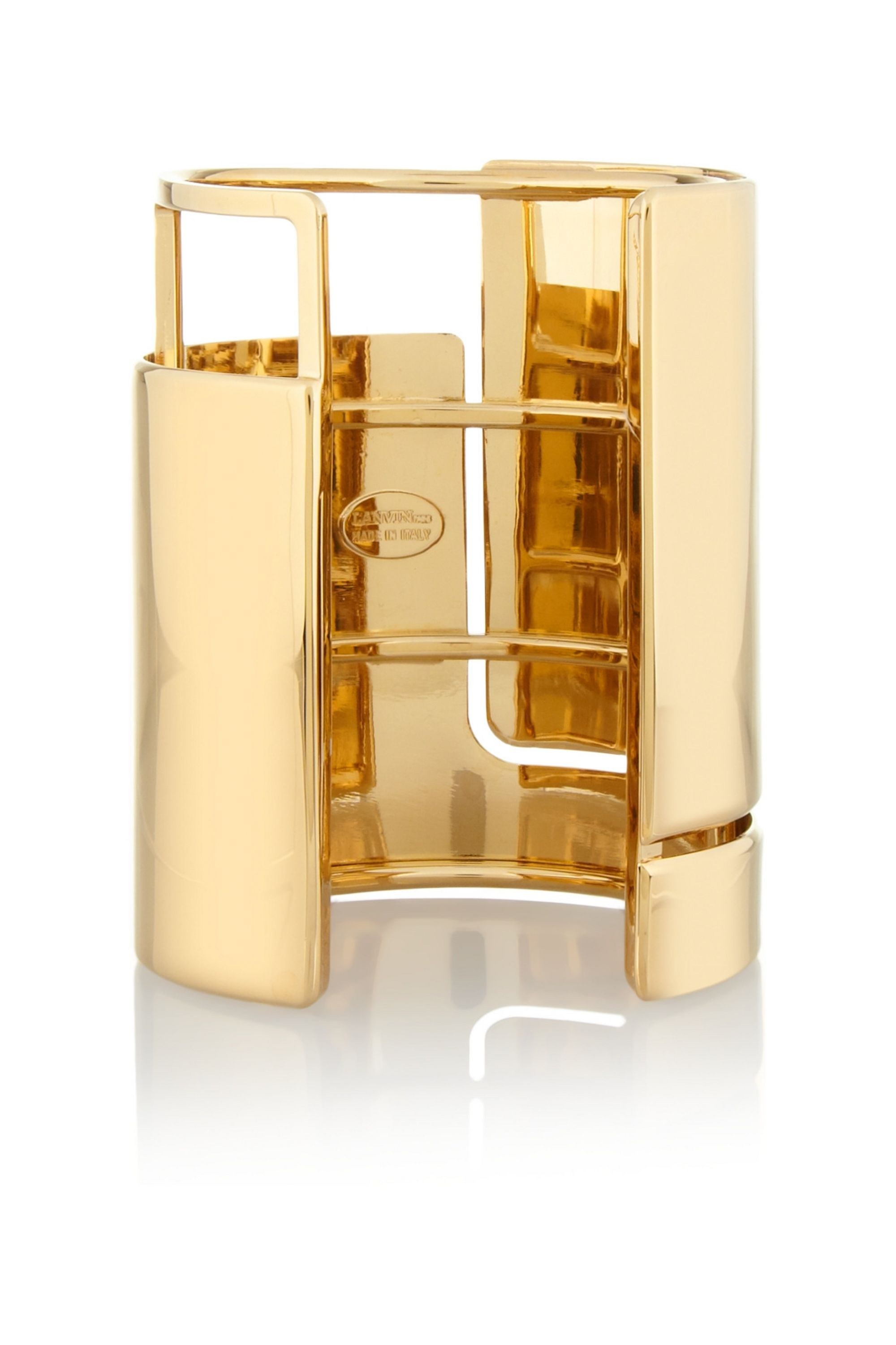 Lanvin Oracle gold-tone cuff