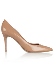 Gianvito Rossi Vertan patent-leather pumps