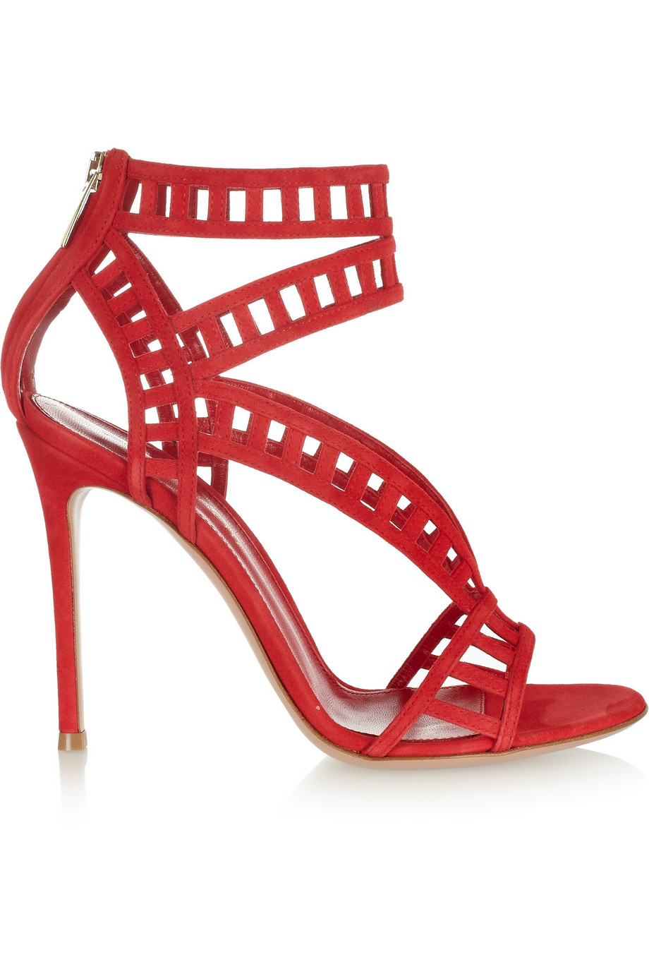 5d4c801d4505 Today s So Shoe Me is the Cutout Suede Sandals by Gianvito Rossi
