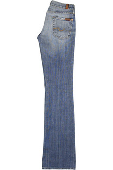 7 for all mankind Bootcut stretch jeans