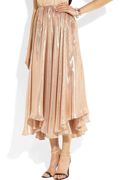 Silk Circle Skirt 25