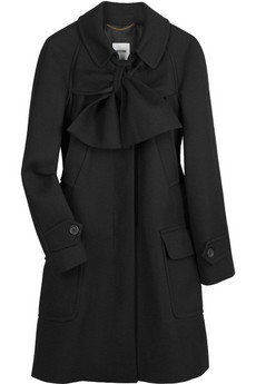 Moschino Bow-front coat
