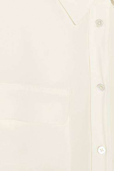 Equipment Signature Bluse aus vorgewaschener Seide Amazon Günstiger Preis Spielraum Footlocker UWXuFx