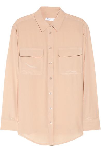 Equipment signature washed silk shirt net a porter com for Equipment signature silk shirt