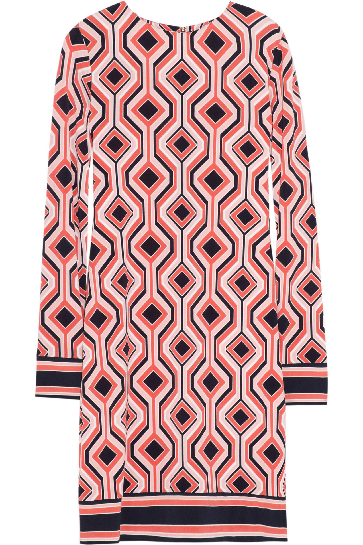 MICHAEL Michael Kors Printed stretch-jersey dress