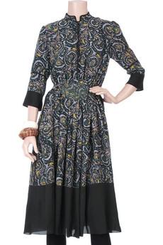 ChloéWinter floral dress