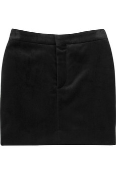 Chloé Velvet mini skirt