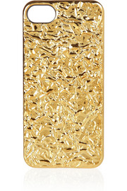 Marc by Marc Jacobs 3D foil-effect iPhone 5 cover