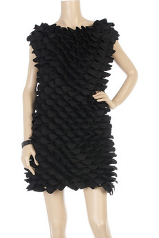 FendiPetal trimmed dress