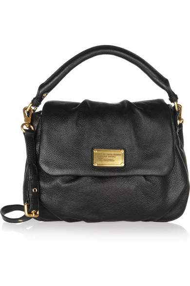 451cee9d0c28fd Marc by Marc Jacobs   Classic Q Lil Ukita textured-leather shoulder ...