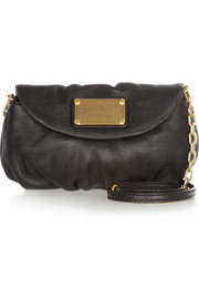 Classic Q Karlie textured-leather mini shoulder bag