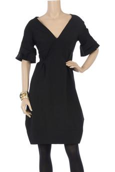CelineCocoon V-neck dress