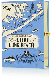 Olympia Le-Tan The Lure of Long Beach embroidered clutch