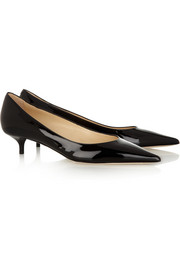 Jimmy Choo Amelia patent-leather pumps