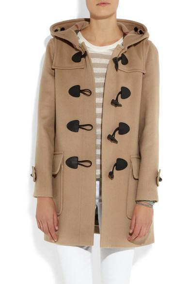 Wool Felt Duffle Coat