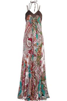 Just Cavalli Paisley print maxi dress |NET-A-PORTER.COM from net-a-porter.com