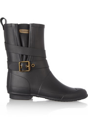 Burberry Shoes & Accessories Biker-style Wellington boots