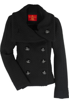 Vivienne Westwood Red Label Optical double-breasted jacket