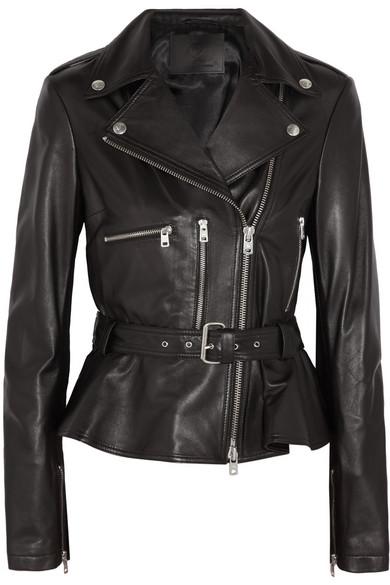 f4f0c99998340 McQ Alexander McQueen | Leather biker jacket | NET-A-PORTER.COM