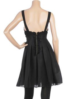 D&G Dolce & GabbanaOrganza puff dress