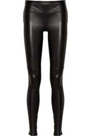 Gucci Stretch-leather skinny pants