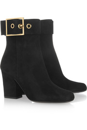 Gucci Kesha suede ankle boots
