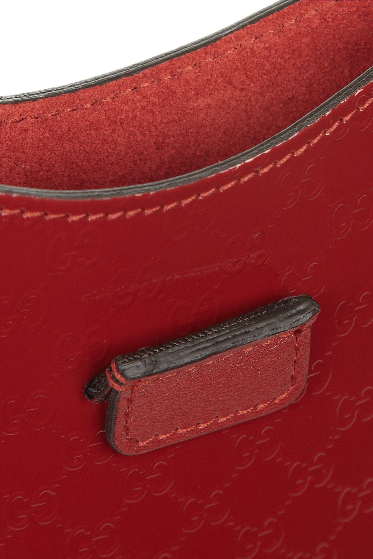 Gucci Embossed patent-leather iPad Mini sleeve