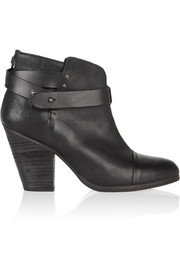 Rag & bone Harrow leather biker boots