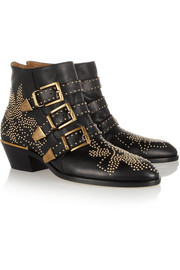 Chloé Susanna studded leather ankle boots