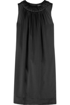 ALLDRESSEDUP Draped keyhole dress
