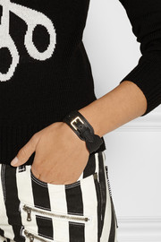 Mulberry Leather wrap bracelet