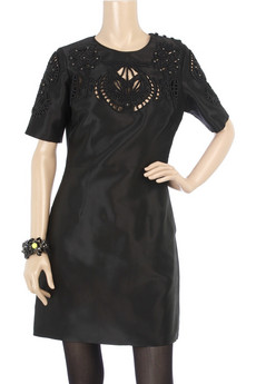 Thurley Cut-out shift dress