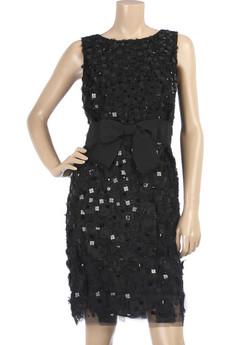 Oscar de la RentaPailette embellished dress