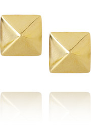 Anita Ko Spike 14-karat gold stud earrings