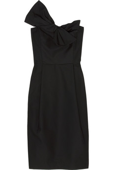 Derek Lam Strapless bow dress