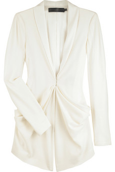 Donna Karan Gathered front jacket