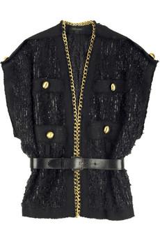 Marc Jacobs Chain detail bouclé jacket