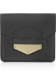 Sophie Hulme Arrow leather clutch