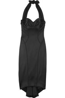 Zac Posen Stingray satin dress