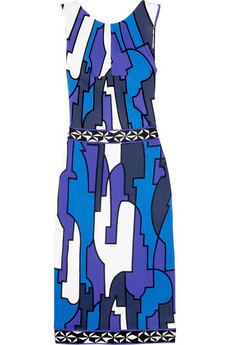 Emilio Pucci Cancello print shift dress