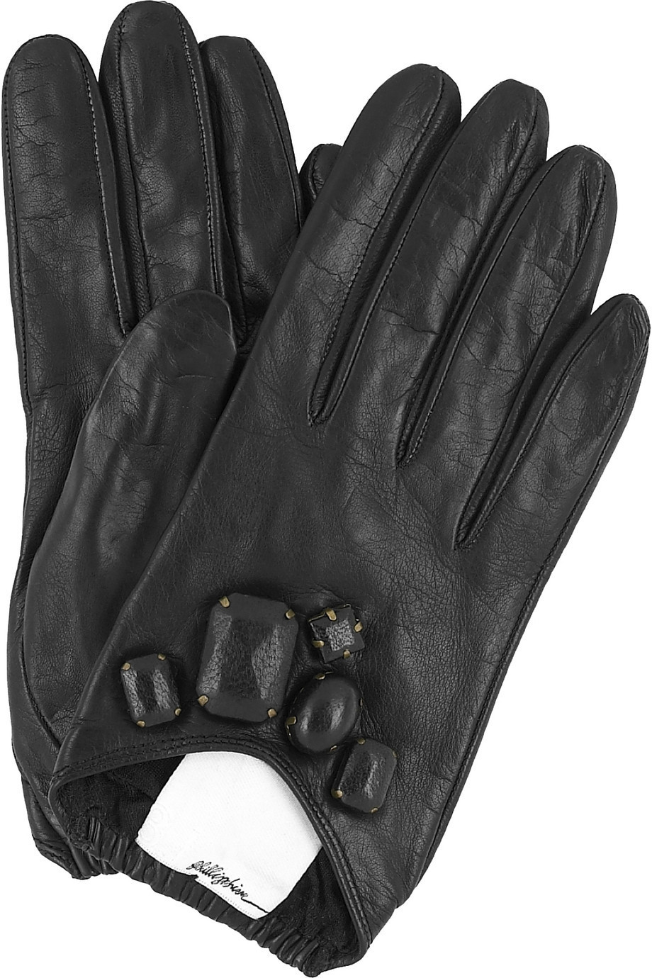 3.1 Phillip Lim Jeweled leather gloves | NET-A-PORTER.COM from net-a-porter.com