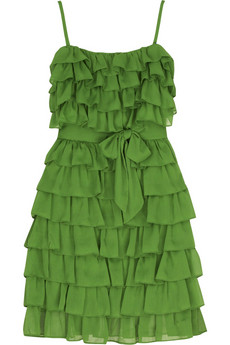 Juicy Couture Ruffle mini dress